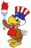 Sam, The Eagle  1984 Los Angeles Olympics