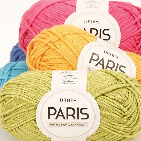 ¡Nos chiflan los colores del algodón Paris de Drops! Encuéntralos todos en nuestra web y en nuestra tienda de Barcelona