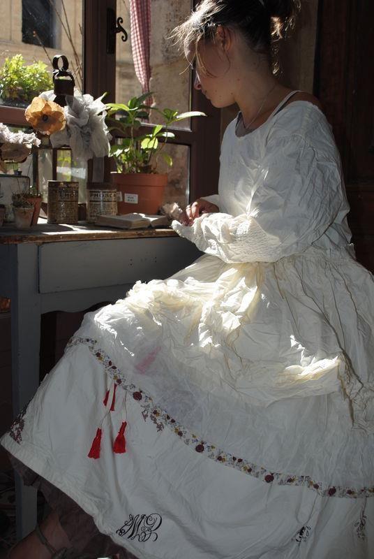 . work dress - very careful work!  LOL