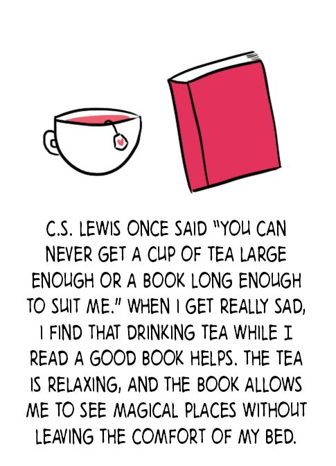 Tea and Books go together like Peanut Butter and Jelly!