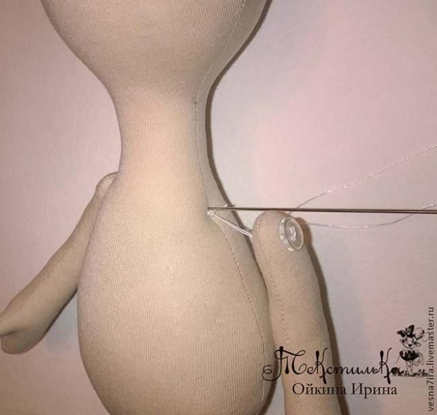 Мастер-класс по изготовлению тела для куколки-большеножки - Ярмарка Мастеров - ручная работа, handmade