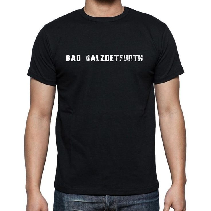 bad salzdetfurth, Men's Short Sleeve Rounded Neck T-shirt
