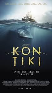 'Kon Tiki': Een prachtige film over ontdekkingsreizigers die op een vlot een lange reis maken. Gebaseerd op een waargebeurd verhaal.