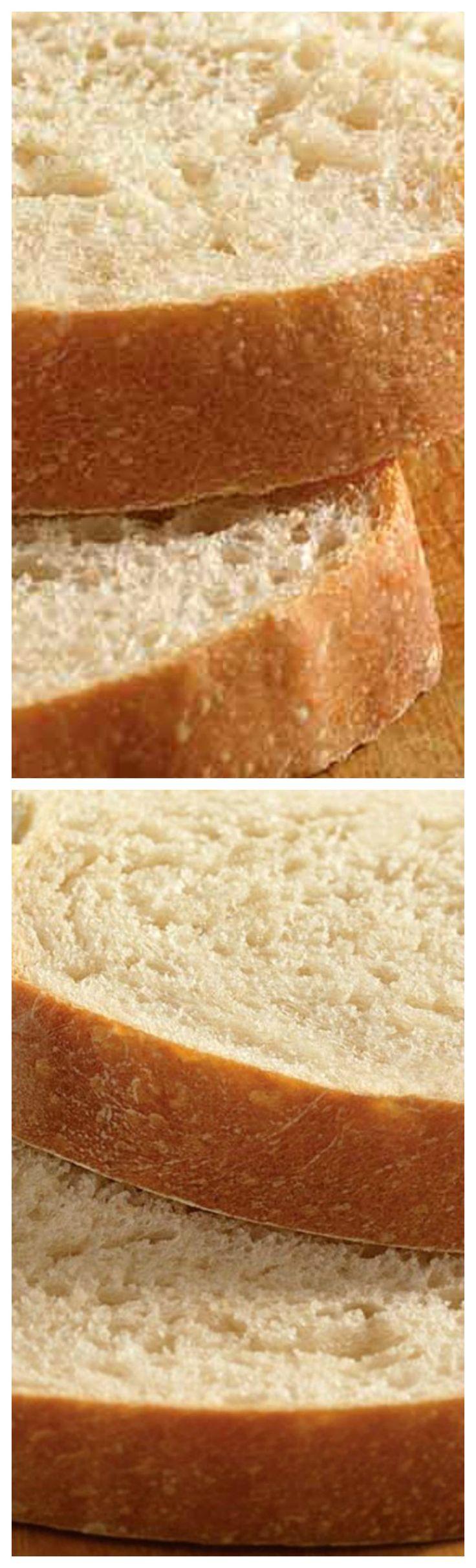 Basic Sourdough Bread ~ Tangy, soft sandwich loaf recipe