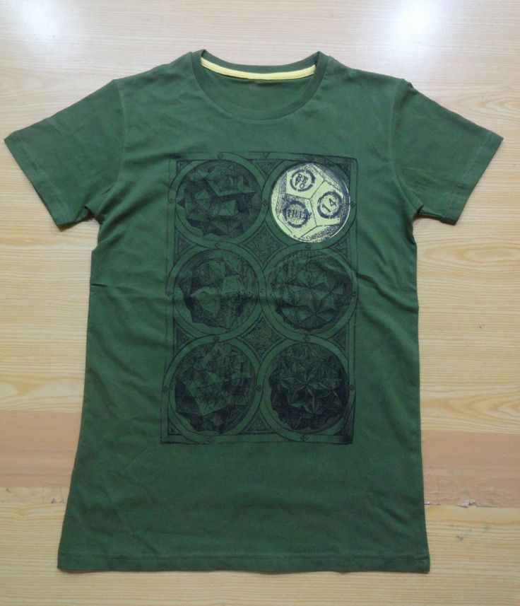 T-Shirt Made of 100% Cotton With Silk screen Printing acra.intl@
