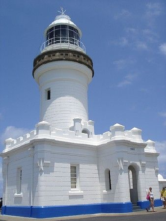New South Wales Cape Byron Light, Byron Bay, November 2005   Flickr Creative Commons photo by Adam Campbell