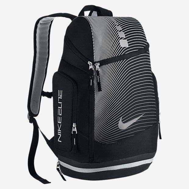gray nike elite backpack