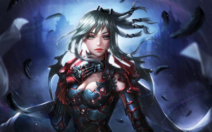 Aranea Highwind Final Fantasy Xv 5k Hd Games 4k: Download Wallpapers Aranea Highwind, 4k, 2018 Games, RPG
