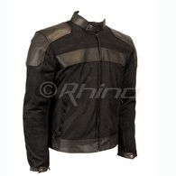 Vortex II Leather and Mesh Jacket with full removable liner and armour