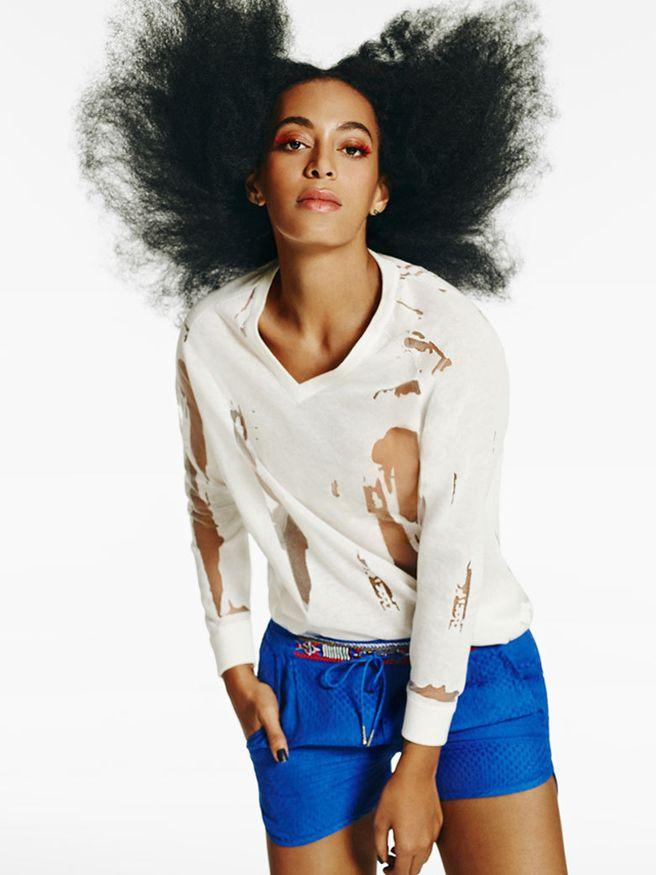 Solange Knowles for Eleven Paris Campaign - Solange New Fashion Campaign for Eleven Paris Spring 2015 - Harper's BAZAAR Magazine