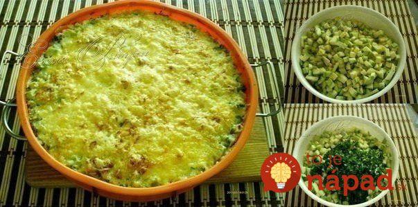 Skvelá večera rýchlo a jednoducho. Pripravte si šťavnatú cuketu s lahodným syrom a smotanou. Už o niekoľko minút si môžete pochutnávať na skvelom domácom jedle.