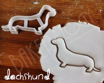 Greyhound hond cookie cutter Biscuit Fondant klei door Bakerlogy