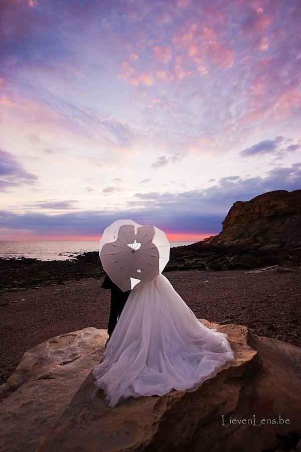 heel speciale locatie om uw huwelijksfoto's te maken. Romantischer kan bijna niet