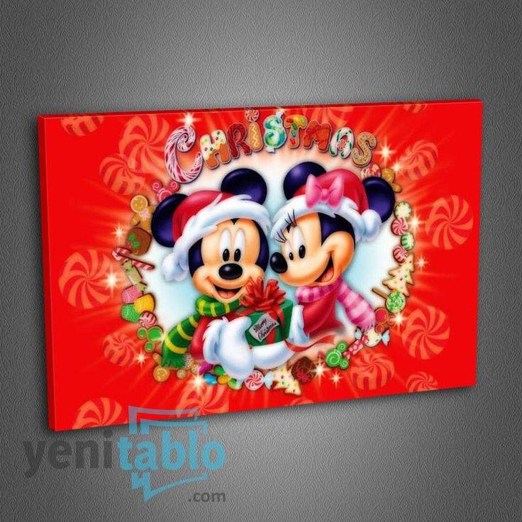 Çocuk Odası Kanvas Tablo http://www.yenitablo.com/kanvas-tablo-galerisi/cocuk-odasi-kanvas-tablolari/co2-mickey-mouse-merry-christmas-tablo