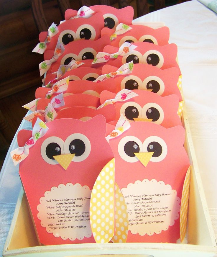 Owl Baby Shower Invitations | Nellies Nest: Little Owl Invites