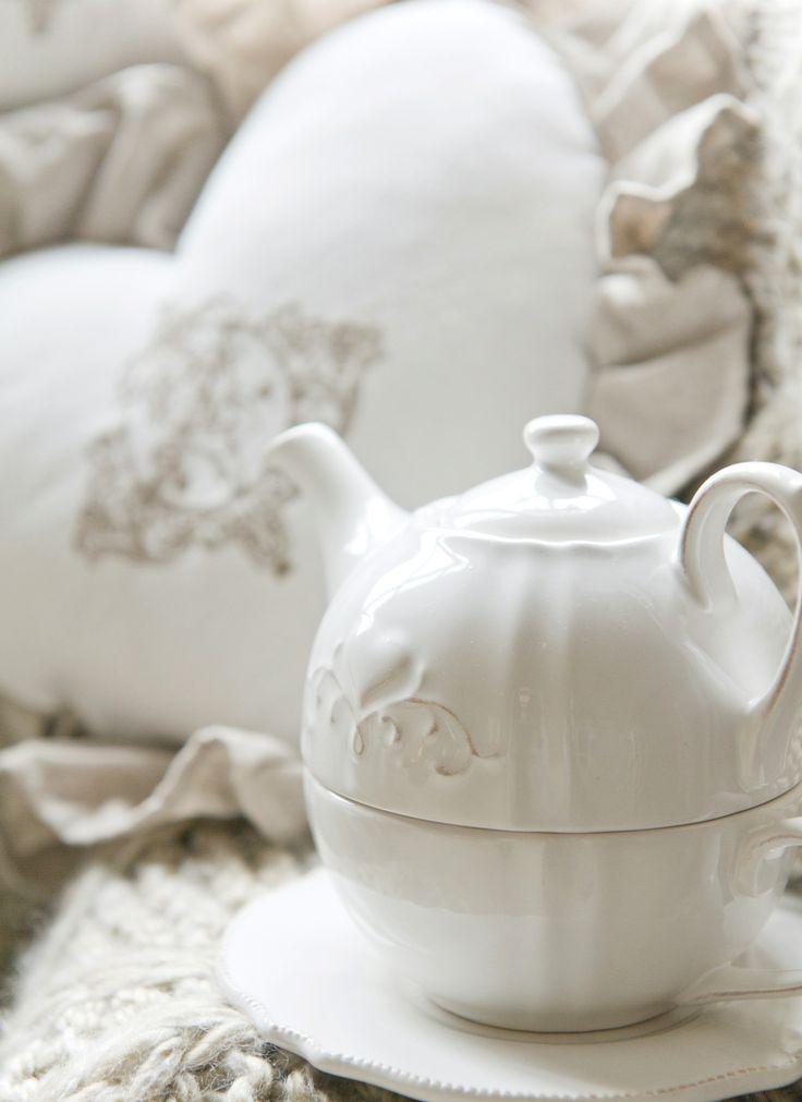 Przyjemność z picia herbaty.