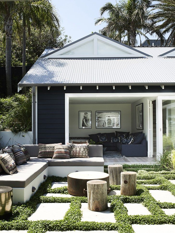 Posh Beach House In Northern Sydney Mi Casa Es Pinterest Outdoor Living And