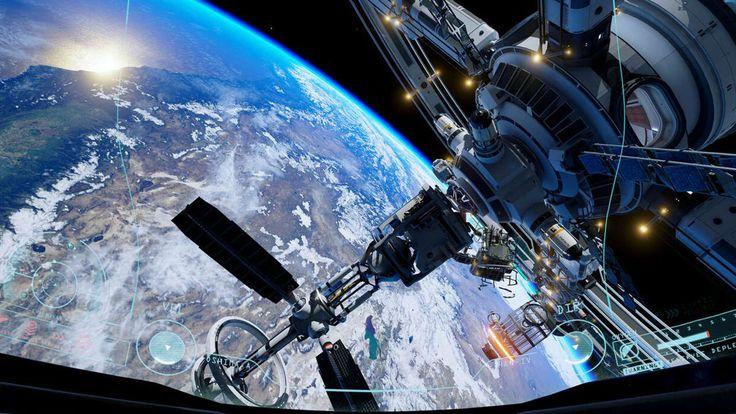 Uzayda Bulunma Deneyimi Sanal Gerçeklikle