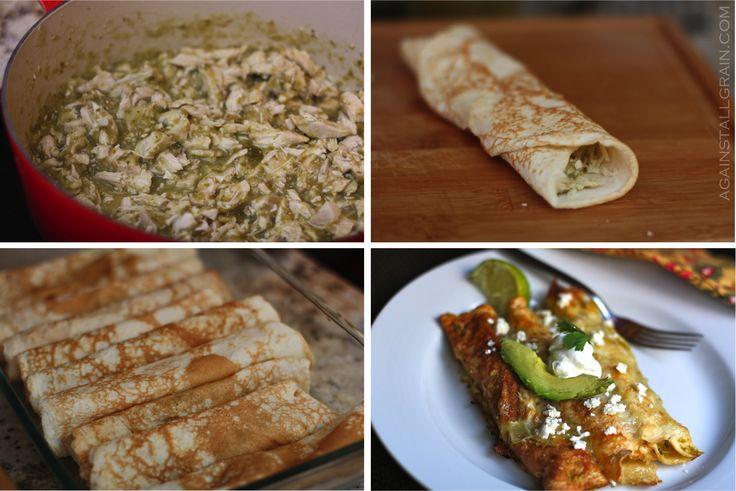 Grain-free enchiladas from @Against All Grain (Danielle)