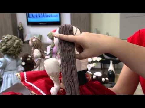 Mulher.com 11/09/2014 - Boneca 3 em 1 por Vivi Prado - (Parte 2/1) - YouTube