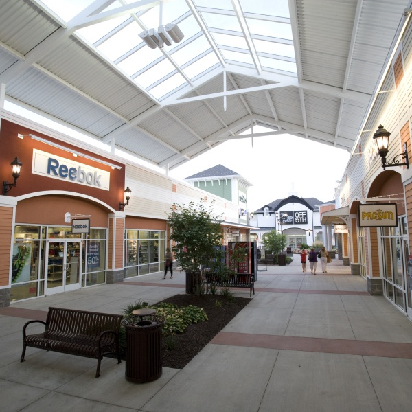 The Tanger Outlets in Washington, Pa. Who doesn't love a bargain?