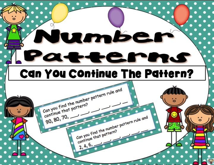 20 Number Pattern Task Cards Both In Ascending And Descending Orde Subtraction Activities Kindergarten Subtraction Activities Addition Activities Kindergarten