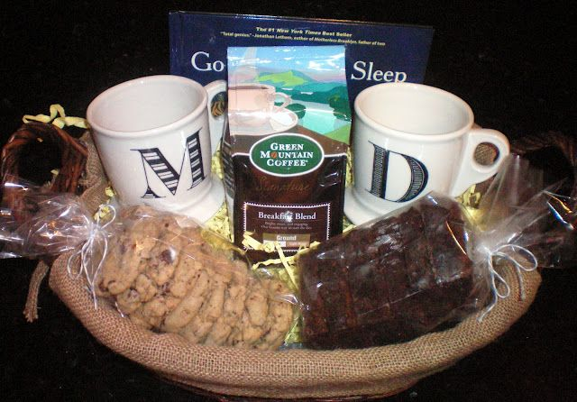 Early Mornings & Midnight Snacks Basket for New Parents