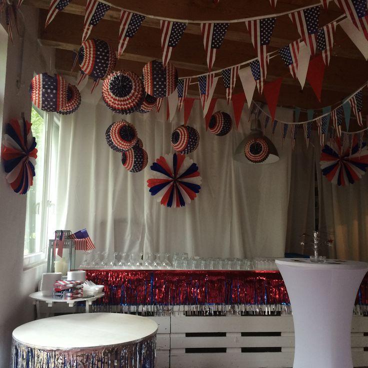 America/ U.S.A Party Decoration