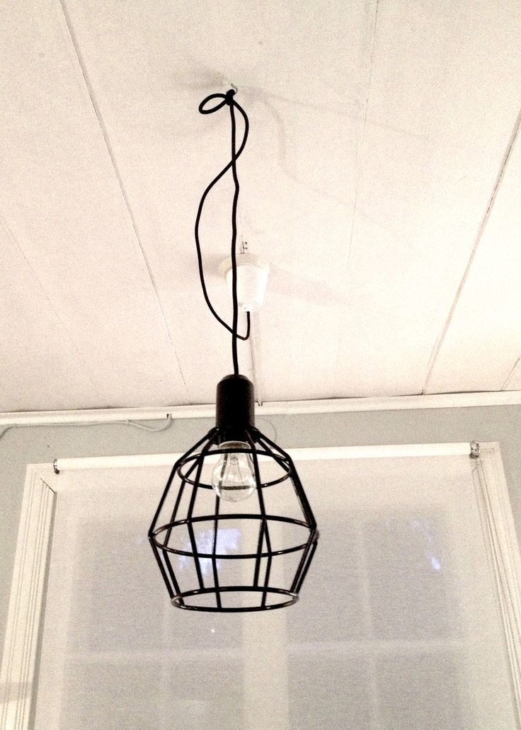 lamp #budget in black, claes ohlson