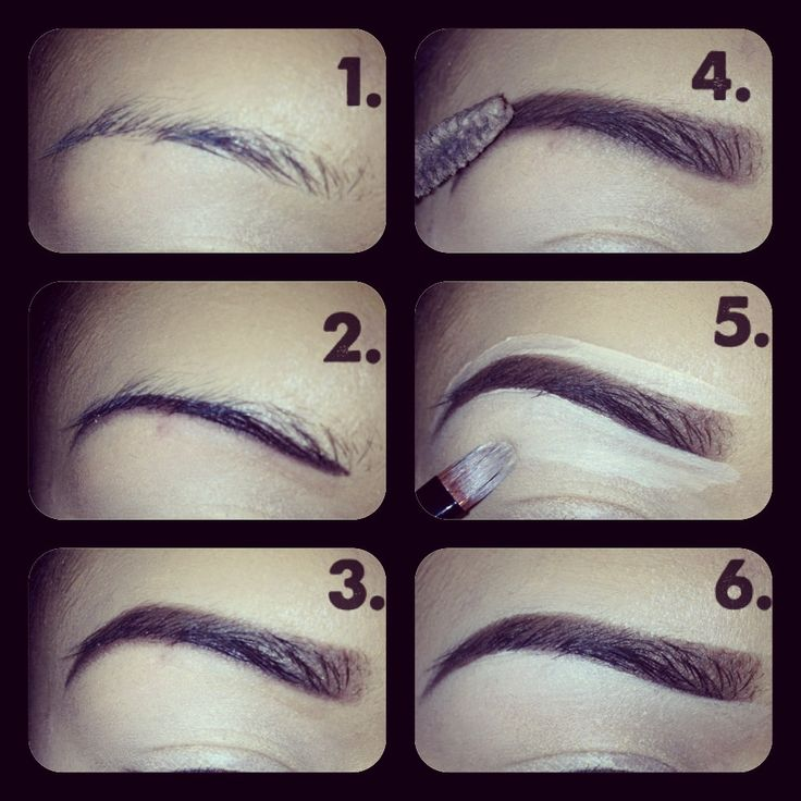 Added By Kim Nguyen. My eyebrow picture tutorial @Bloom.COM - don't like the shape, but I like the idea.