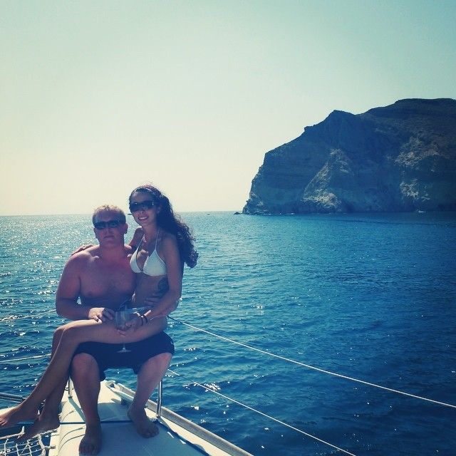 Around of Santorini ! Thank you for sharing @blakerbco !
