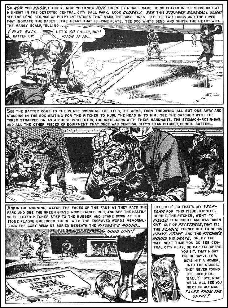 Jack Davis- Foul Play (EC Comics)