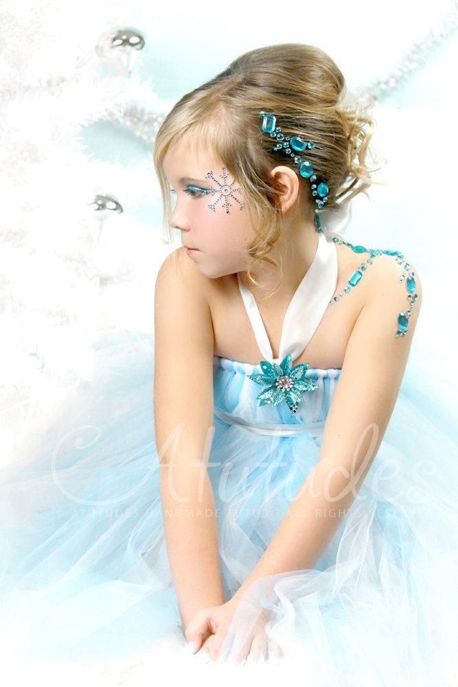 Atutudes Snow Princess Tutu Dress. $49.95, via Etsy.