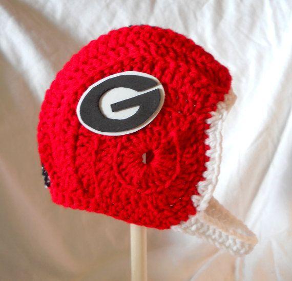 80e03d125 University of georgia bulldogs crochet baby football cdbstudio future  kiddos pinterest baby crochet and football baby