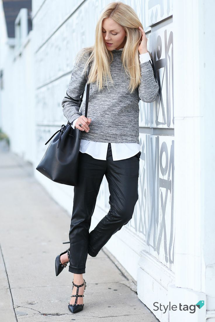 Layered tops are what everyone is wearing this fall including Shea Marie from fashion blog Peace Love Shea. #StyletagApp