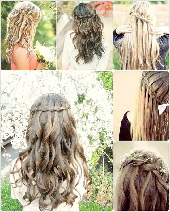 Every girl dreams of being nice on prom nights. No look is complete without ... - Prom Hair #Braided Hairstyles #Hairstyles hoc ...
