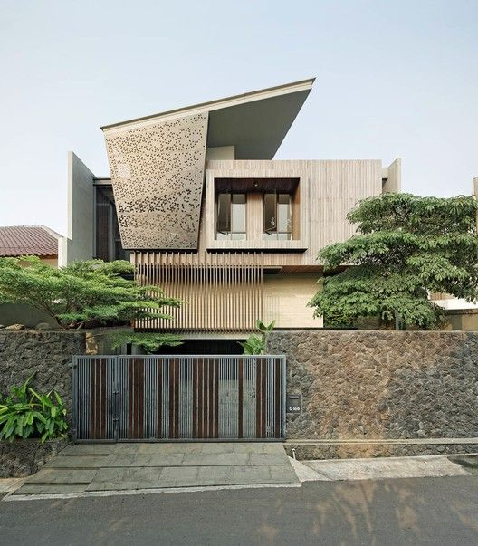 Best Contemporary Indonesian Architecture Images On Pinterest - Modern house jakarta