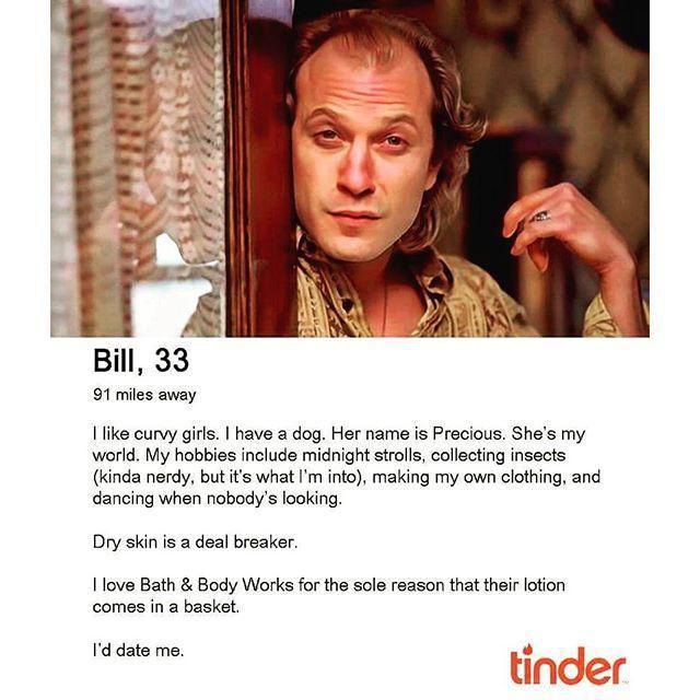 Nerd dating profile