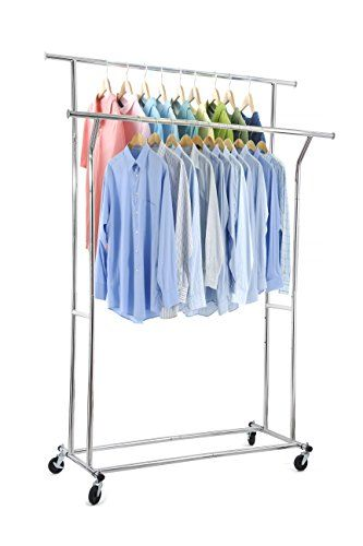 Portable And Expandable Garment Rack In Black Chrome 18 Months Gorgeous 22 Best Kingdomlifemga Images On Pinterest  Clothes Rail Garment
