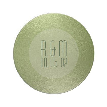 Modern Shiny Green Abstract Background Coaster - simple clear clean design style unique diy
