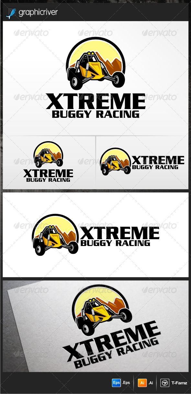 Buggy Racing Logo Templates Logo templates