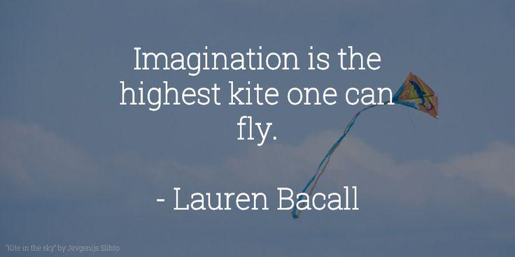 #Imagination #VitaminOfTheDay #LaurenBacall