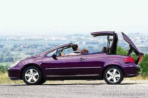 Incredible color~!  Peugeot 307 CC