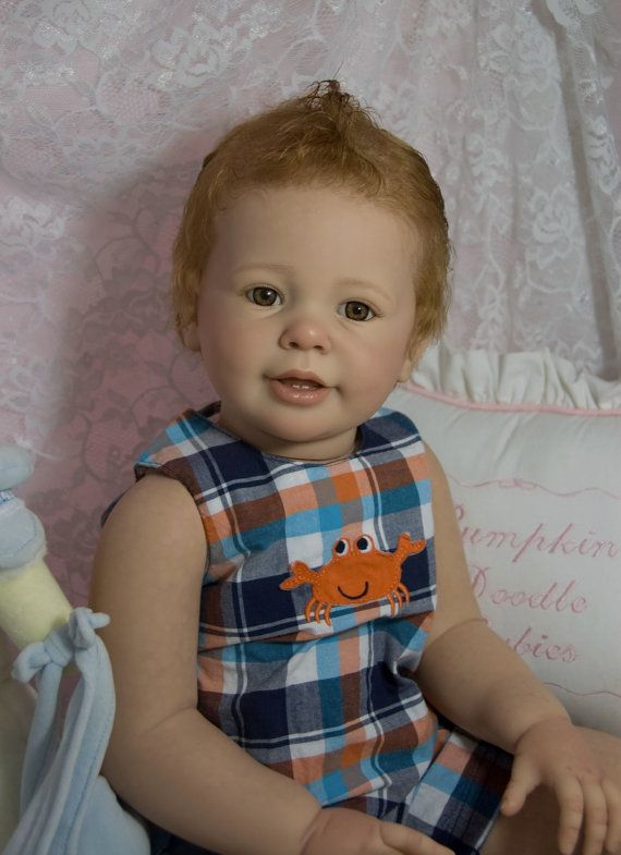 CUSTOM ORDER Reborn Toddler Doll Baby Girl by PumpkinDoodleBabies