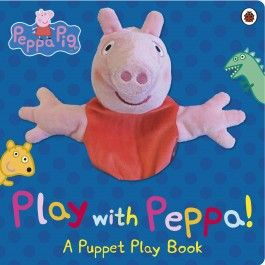 Peppa Pig: Play With Peppa!  A Puppet Play Book $19.99