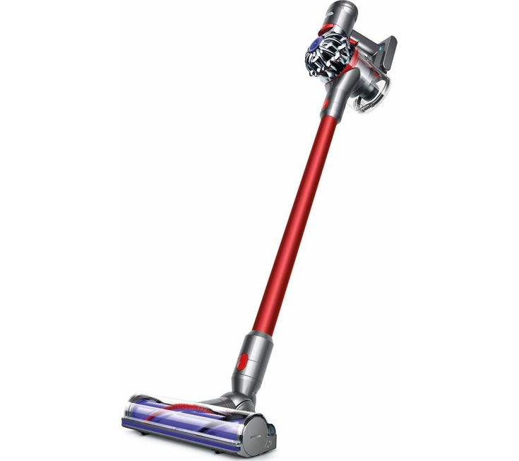 DYSON V Total Clean Cordless Vacuum Cleaner  Red