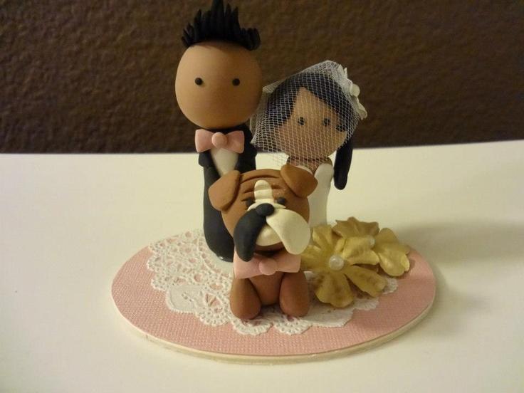 #Wedding #CakeTopper for Josef and Sandy #deeconstructed #whiskuponastar
