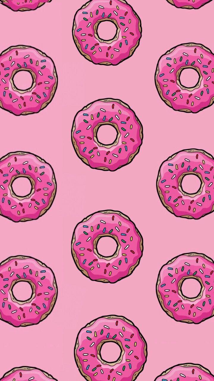 Donut Pink Wallpaper Background Wallpaper Background Donut Donutwallpaper Pink Wall Pink Donuts Wallpaper Pink Wallpaper Pink Wallpaper Backgrounds