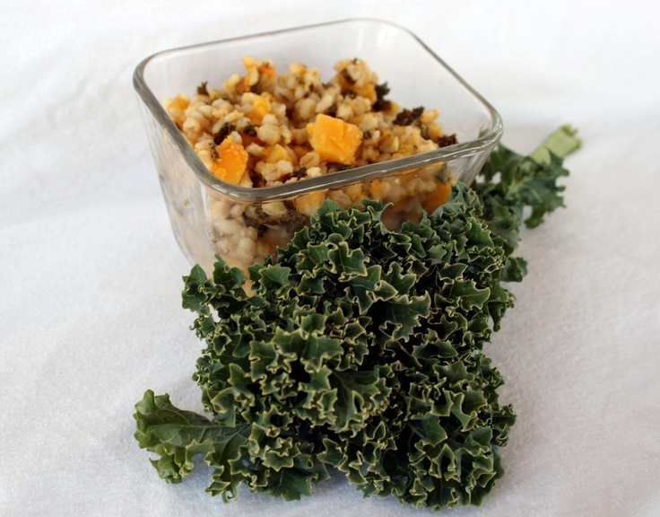Butternut Squash, Kale, and Barley Risotto by Tallgrass Kitchen