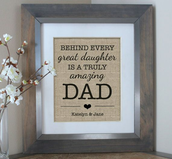 Father S Day Gift From Daughter Personalized By